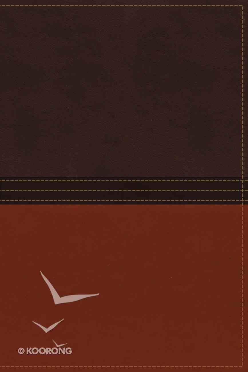 NASB Macarthur Study Bible Earth Brown/Burnt Orange Premium Imitation Leather