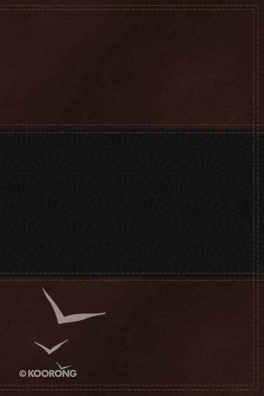 NKJV Study Bible Navy/Auburn (Red Letter Edition) Premium Imitation Leather