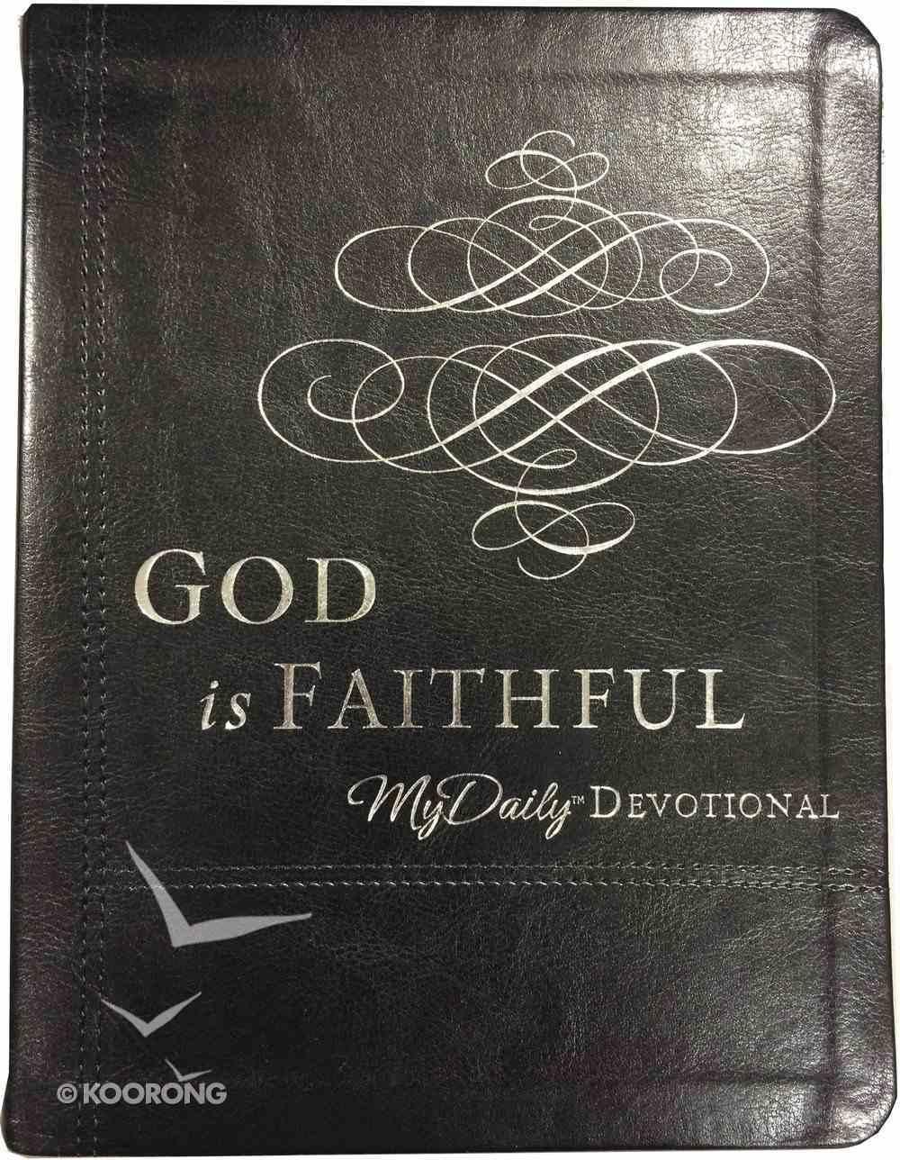 God is Faithful Imitation Leather