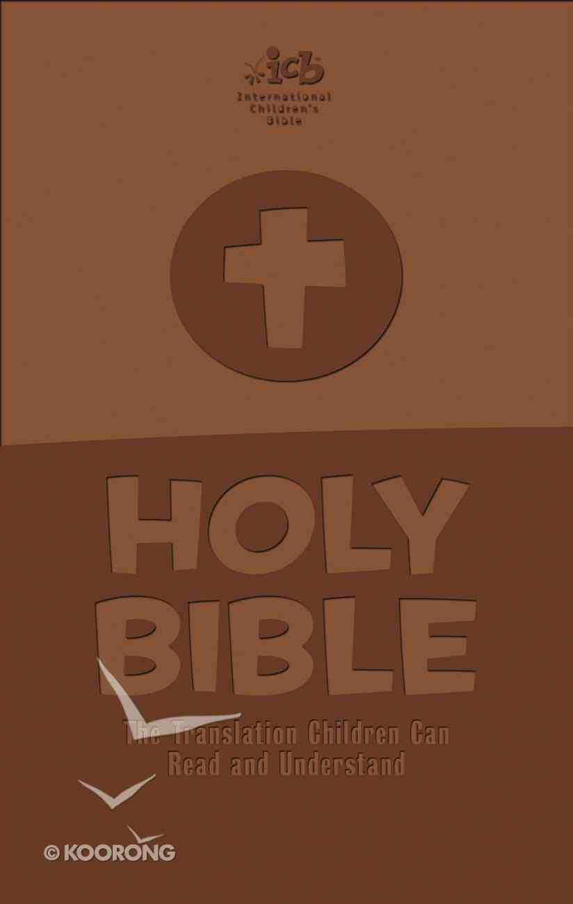 ICB Holy Bible Brown (Black Letter Edition) Premium Imitation Leather