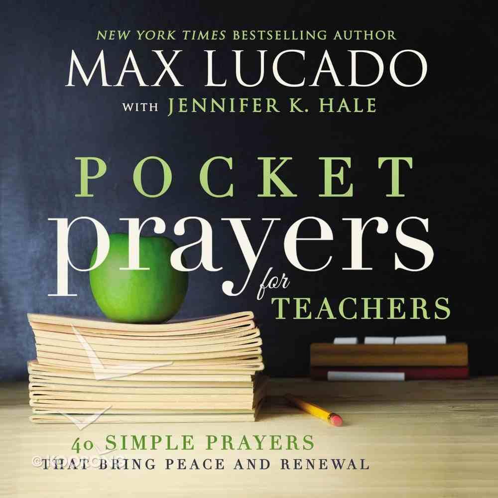 Pocket Prayers For Teachers (Pocket Prayers Series) Hardback