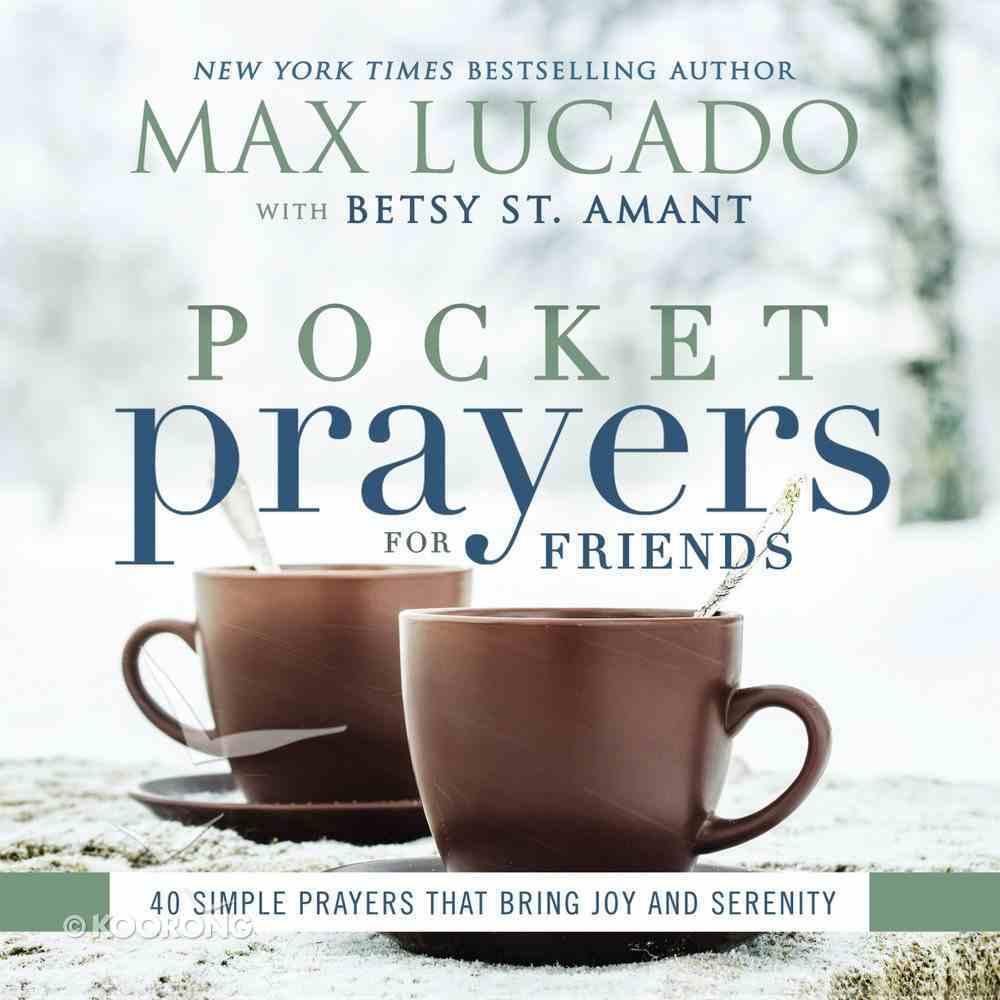 Pocket Prayers For Friends (Pocket Prayers Series) Hardback