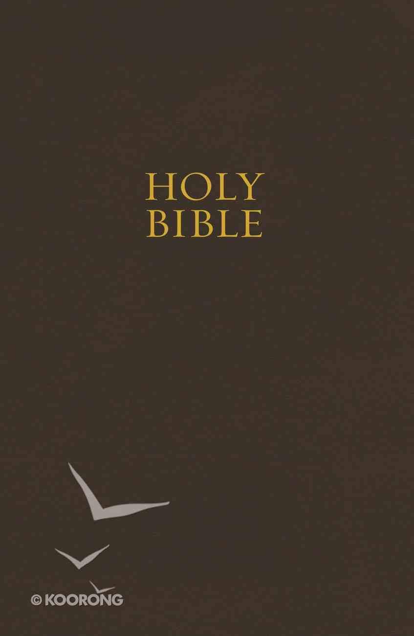 NKJV Pew Bible Brown (Red Letter Edition) Hardback