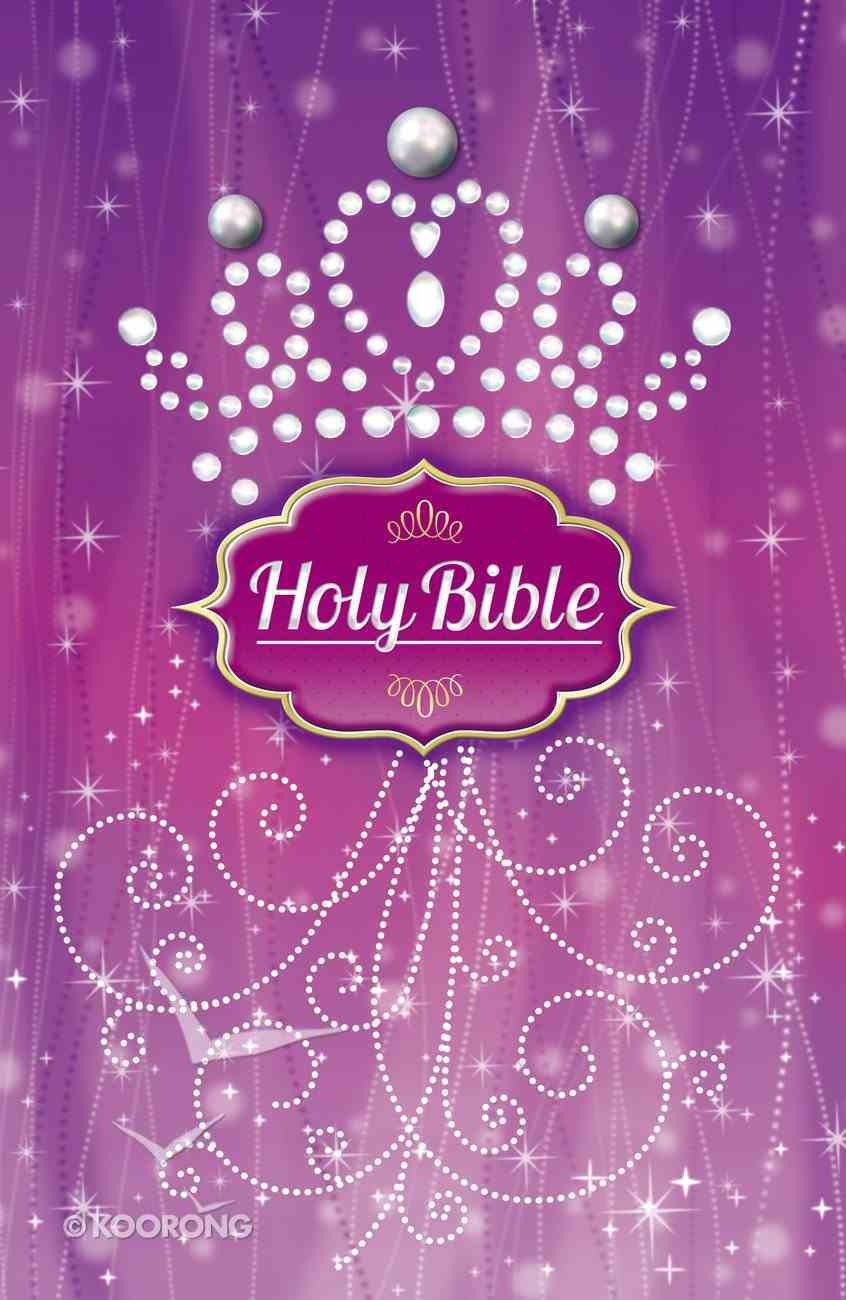 ICB Purple Pearl Princess Bible (Black Letter Edition) Hardback