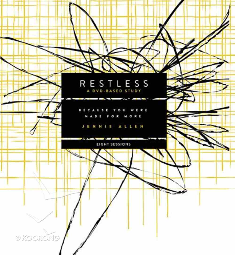 Restless (Dvd Based Study Kit) Pack