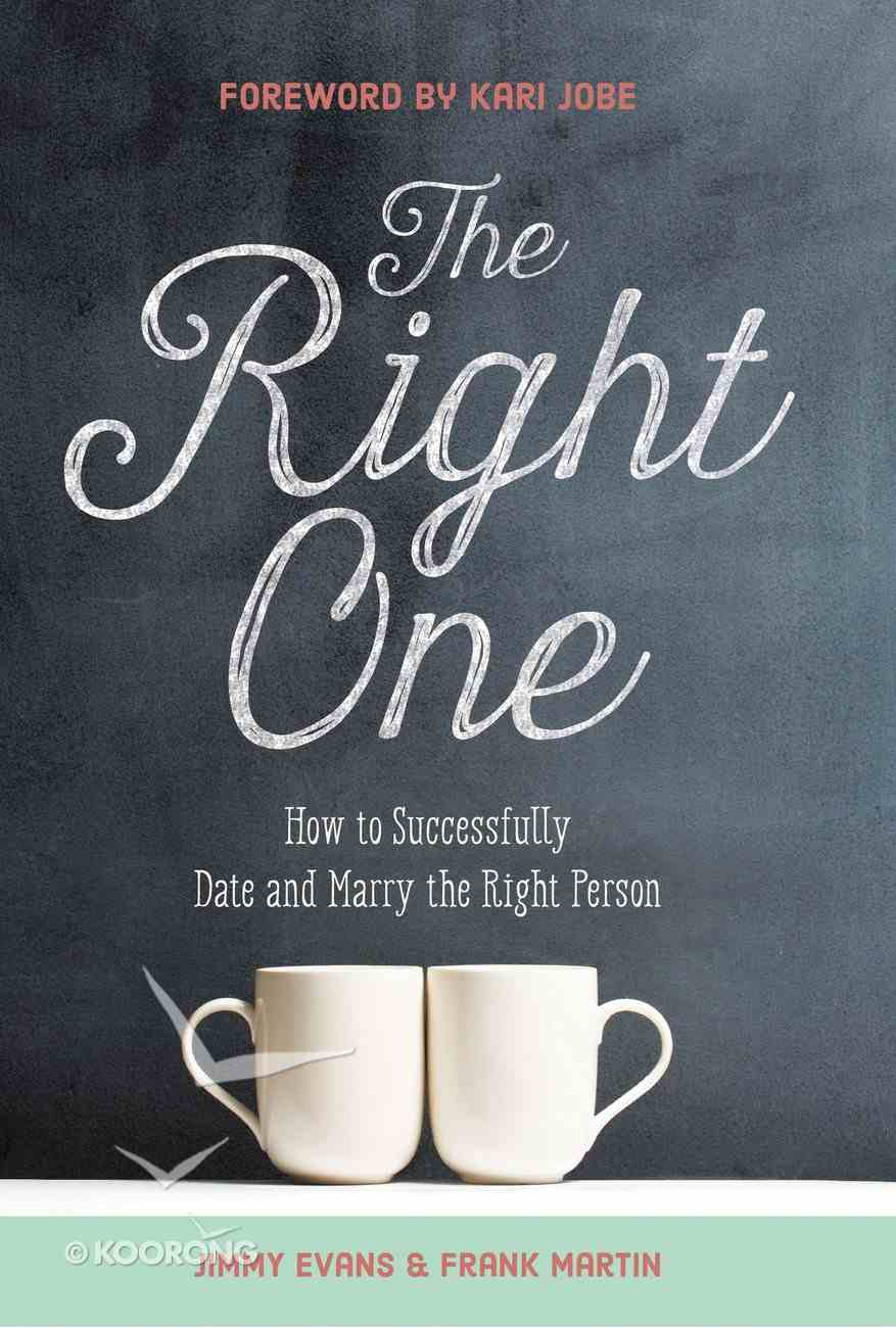 The Right One Hardback