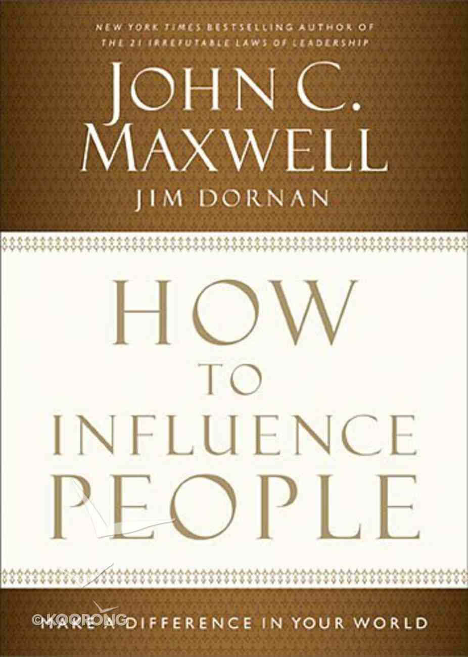 How to Influence People Hardback