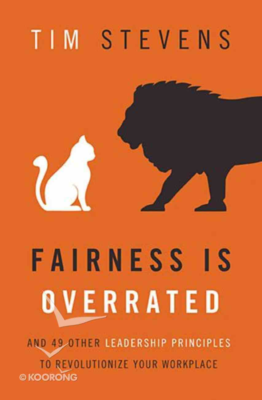 Fairness is Overrated Hardback