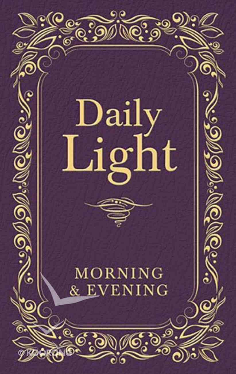 Daily Light: Morning and Evening Devotional (Burgundy) Hardback
