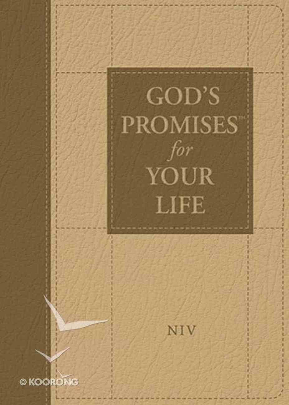 God's Promises For Your Life (Niv) Imitation Leather