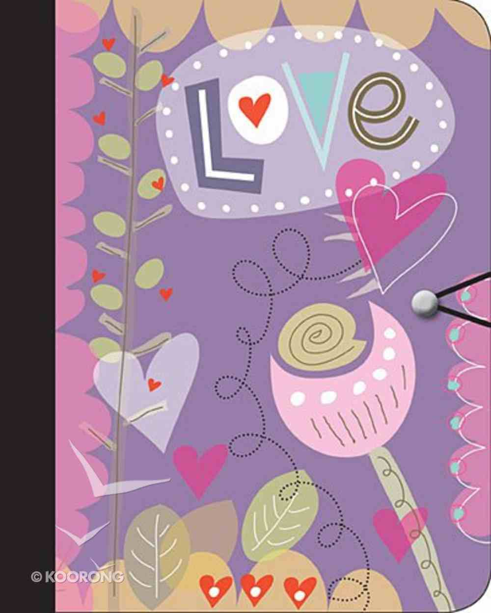 Journal: Love (Hearts) Paperback