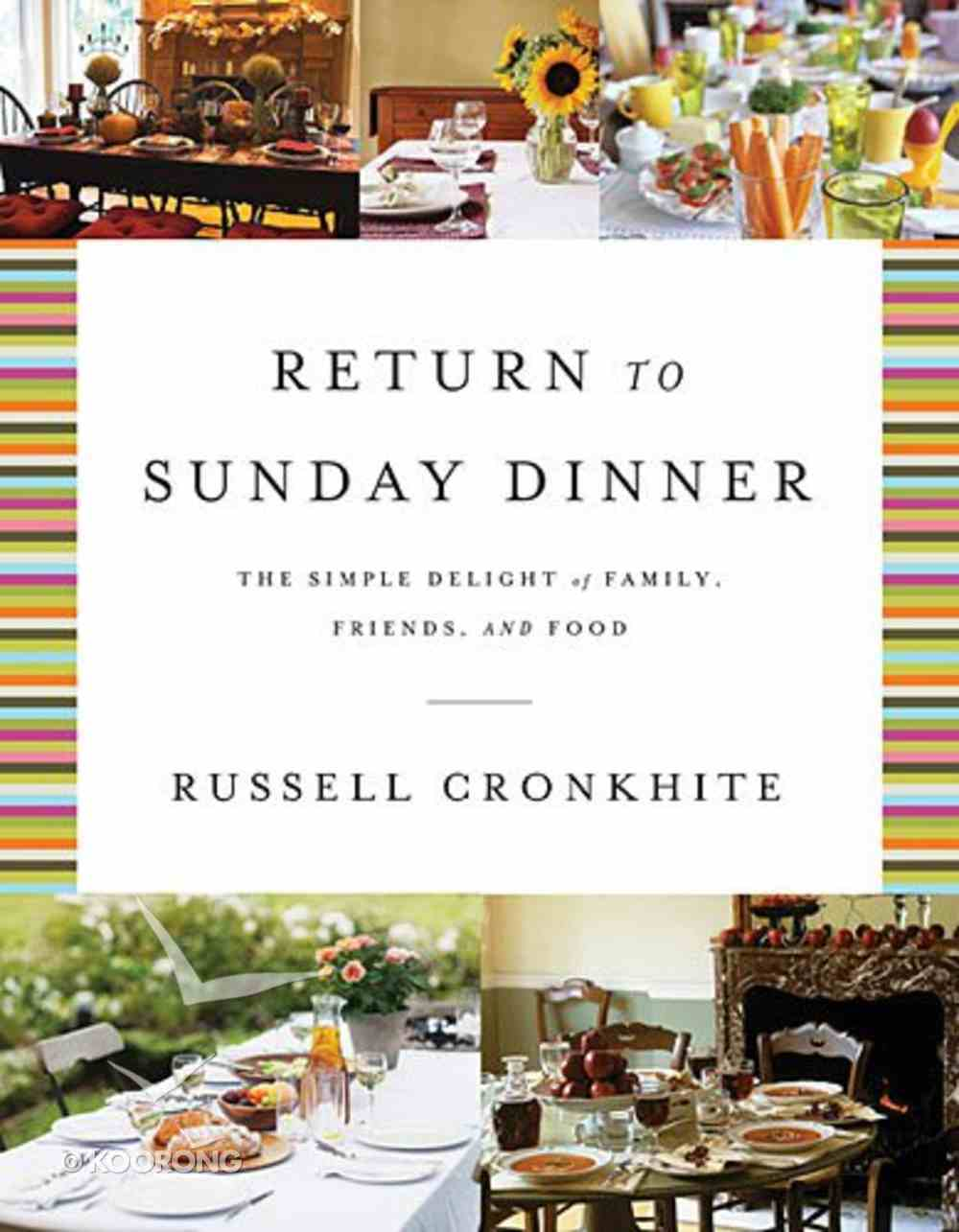 Return to Sunday Dinner Hardback