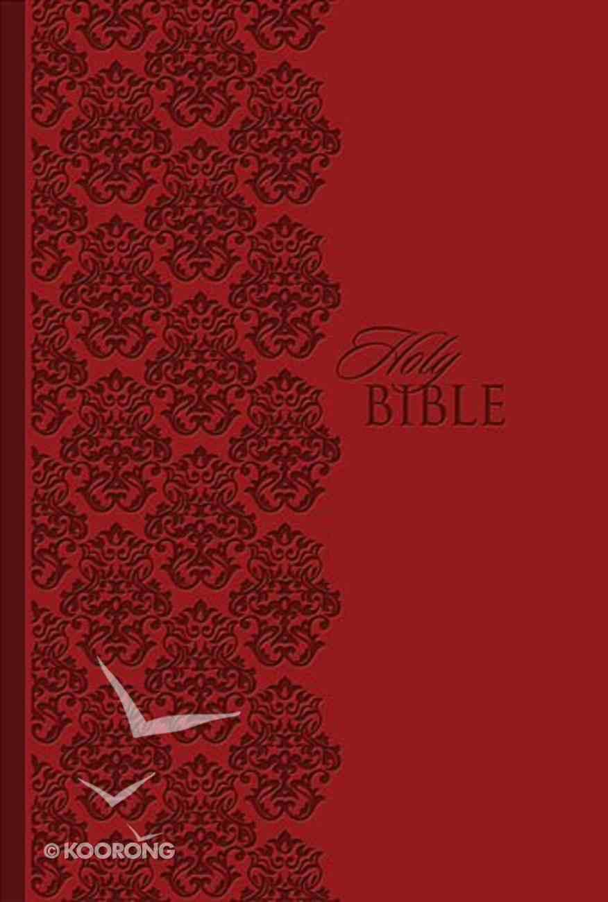 KJV the King James Study Bible Personal Size Leathersoft Ruby Imitation Leather