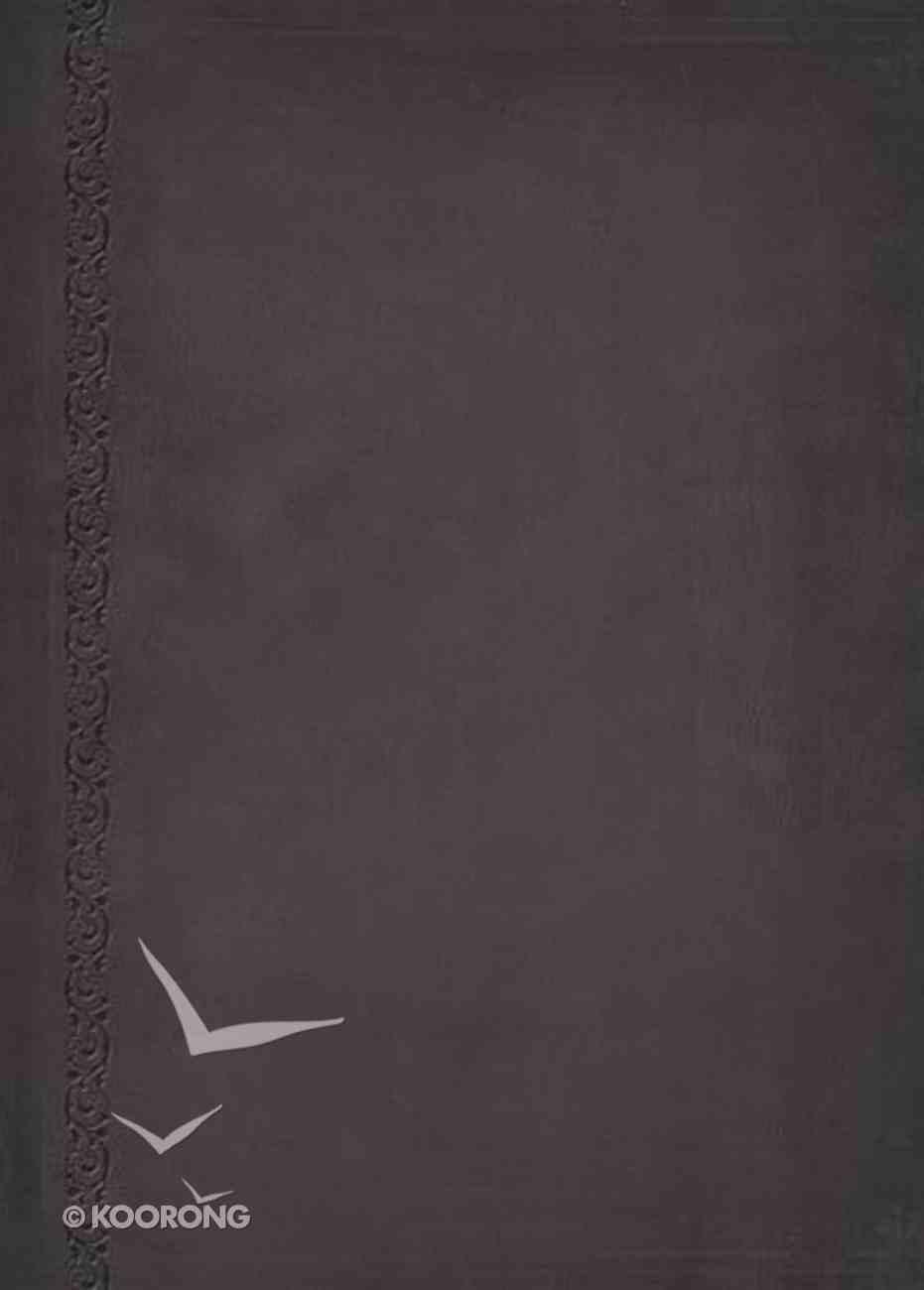 NASB Macarthur Study Bible Indexed Signature Series Black Premium Imitation Leather