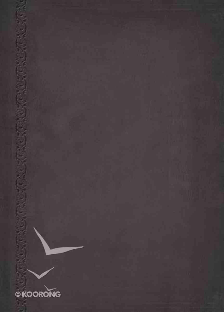 NKJV Macarthur Study Bible Signature Series Black Indexed (Black Letter Edition) Premium Imitation Leather