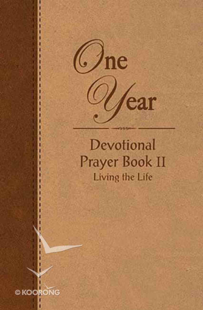 One Year Devotional Prayer Book - Volume 2 Imitation Leather
