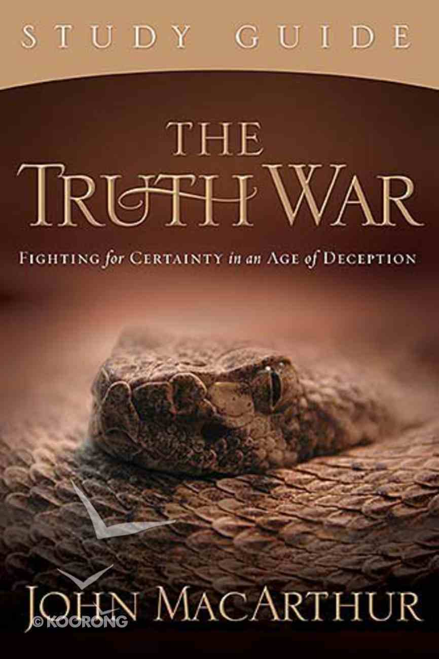 The Truth War  (Study Guide) Paperback