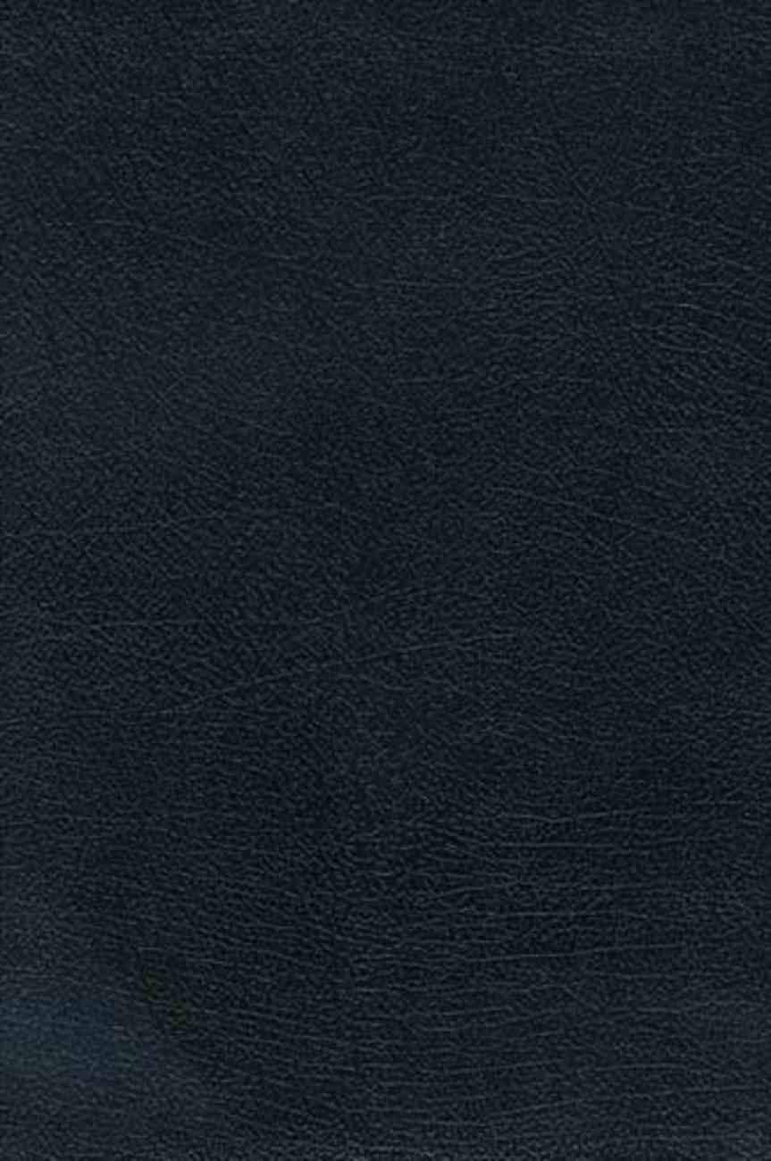 NKJV Study Bible Large Print Black (Black Letter Edition) Bonded Leather
