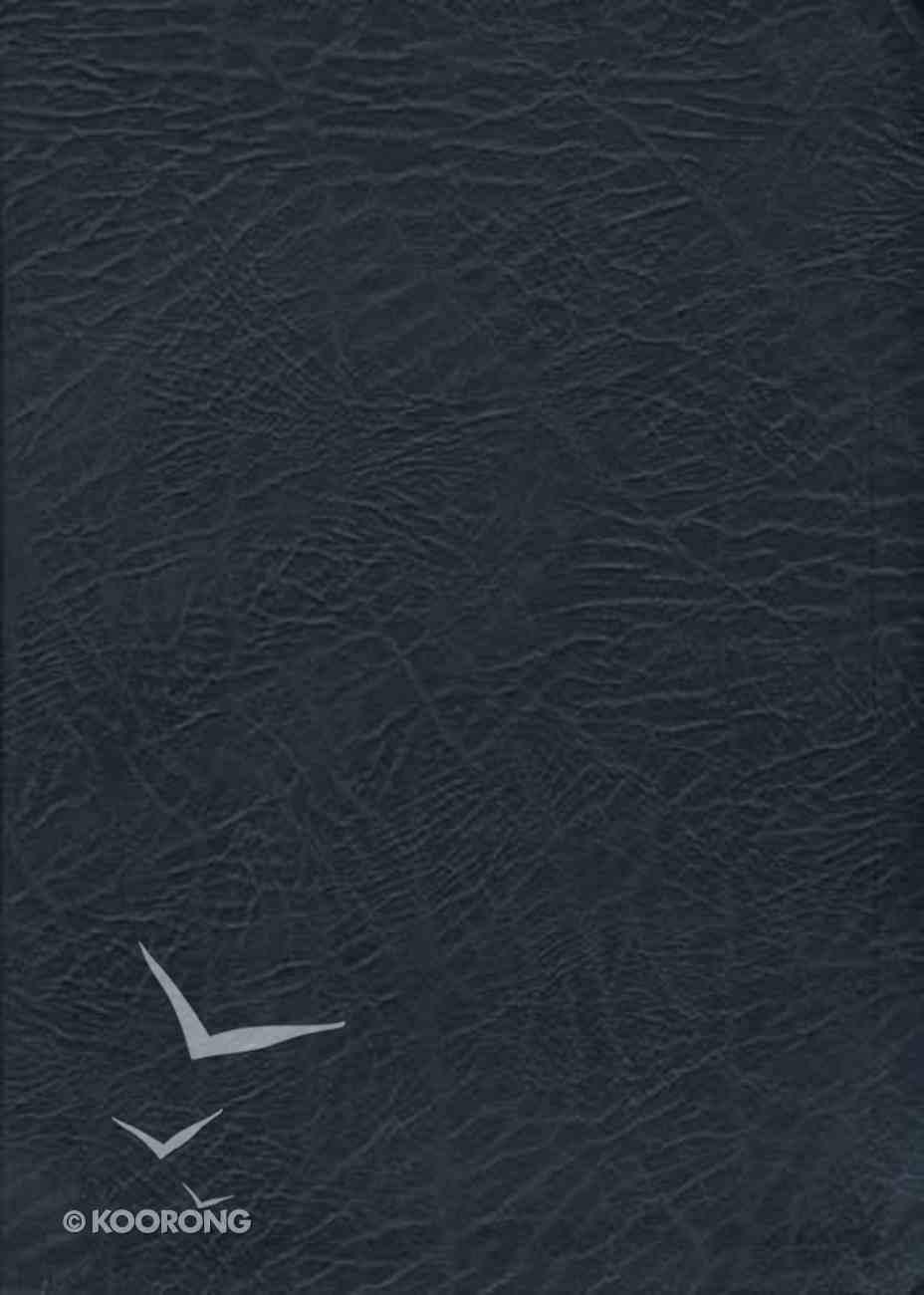 NKJV Macarthur Study Indexed Large Print Black (Black Letter Edition) Bonded Leather