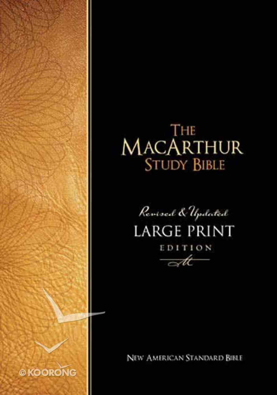 NASB Macarthur Study Bible Large Print Hardback