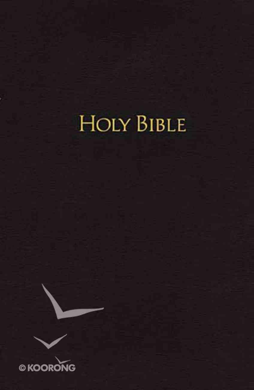 NKJV Pew Bible Black Hardback
