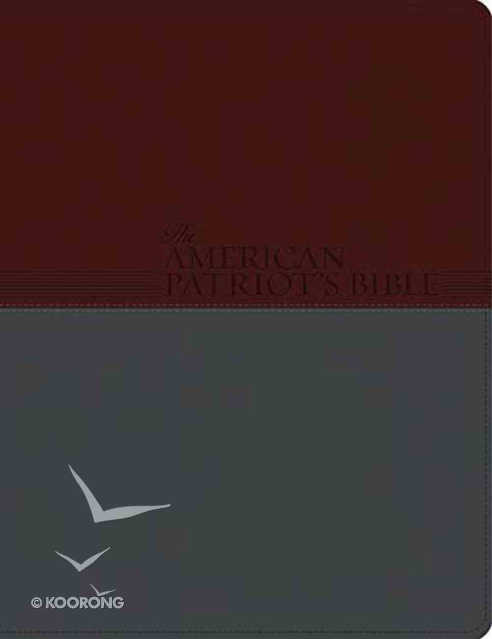 KJV American Patriot's Bible Chestnut Imitation Leather