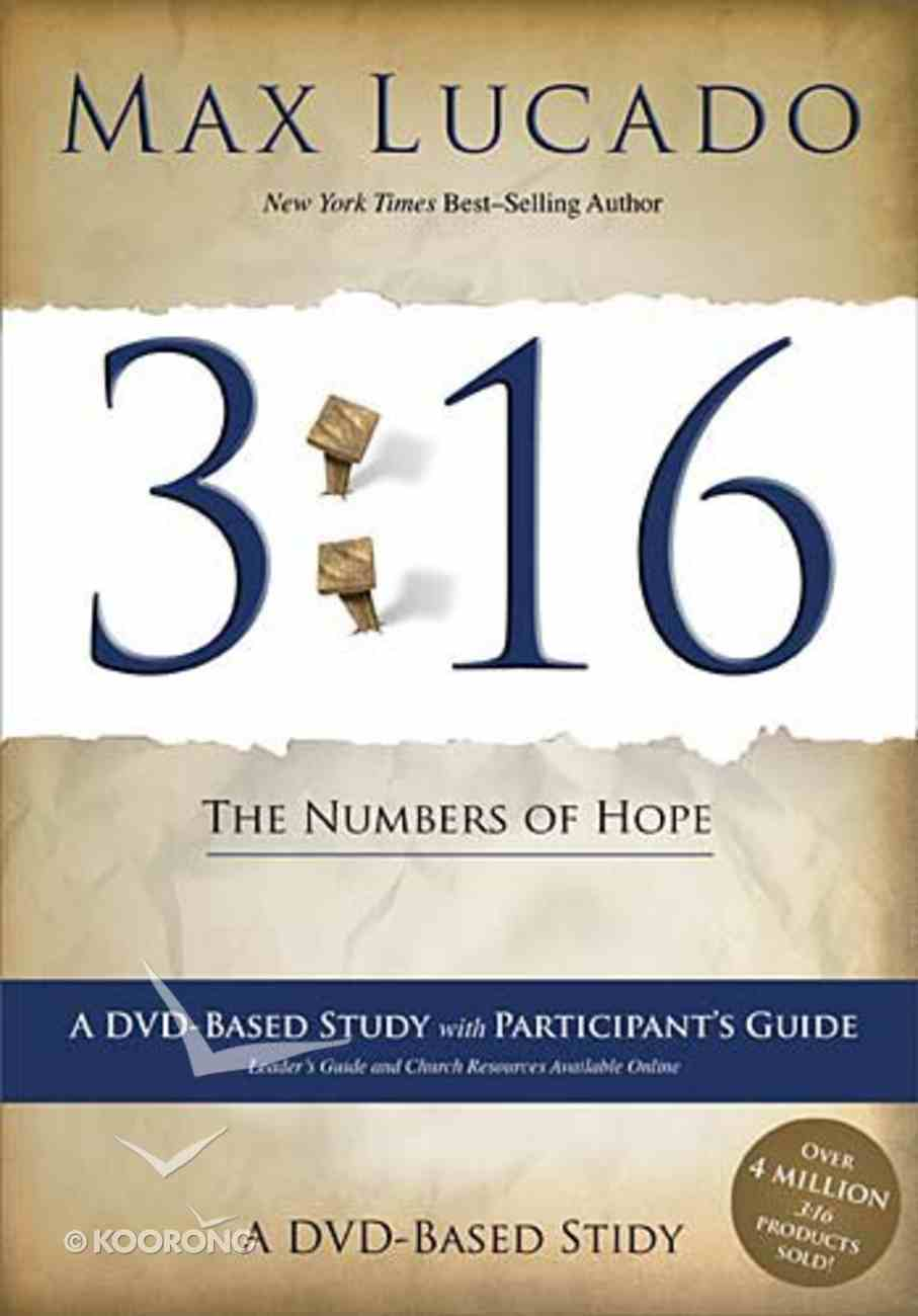 3: 16 - the Number of Hope Dvd-Based Study (Dvd And Participants Guide) DVD