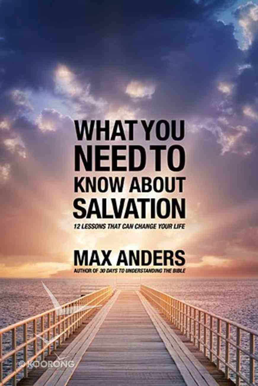 What You Need to Know About Salvation Paperback
