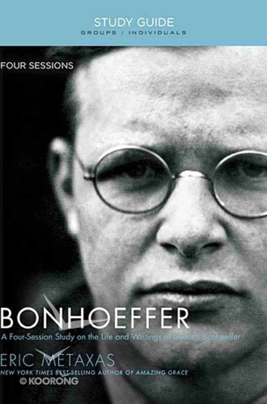 Bonhoeffer (Study Guide) Paperback