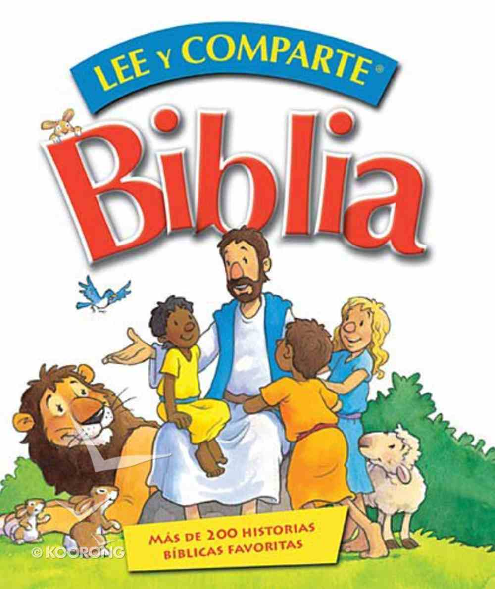 Biblia Lee Y Comparte (Read and Share Bible- Spanish) (Read And Share Dvd Series) Hardback