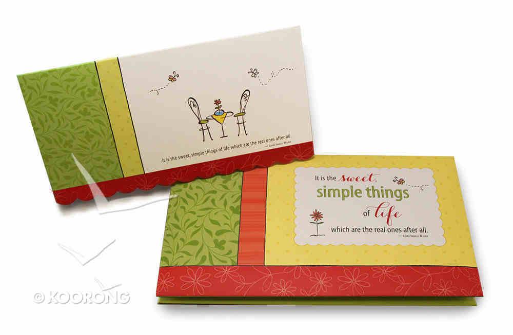 Notecard Folio (Simple Joys Series) Box