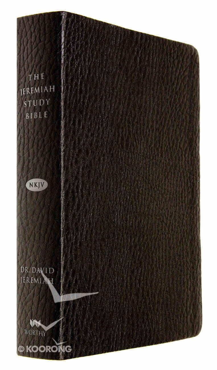 NKJV Jermeiah Study Bible Black Leatherluxe Premium Imitation Leather