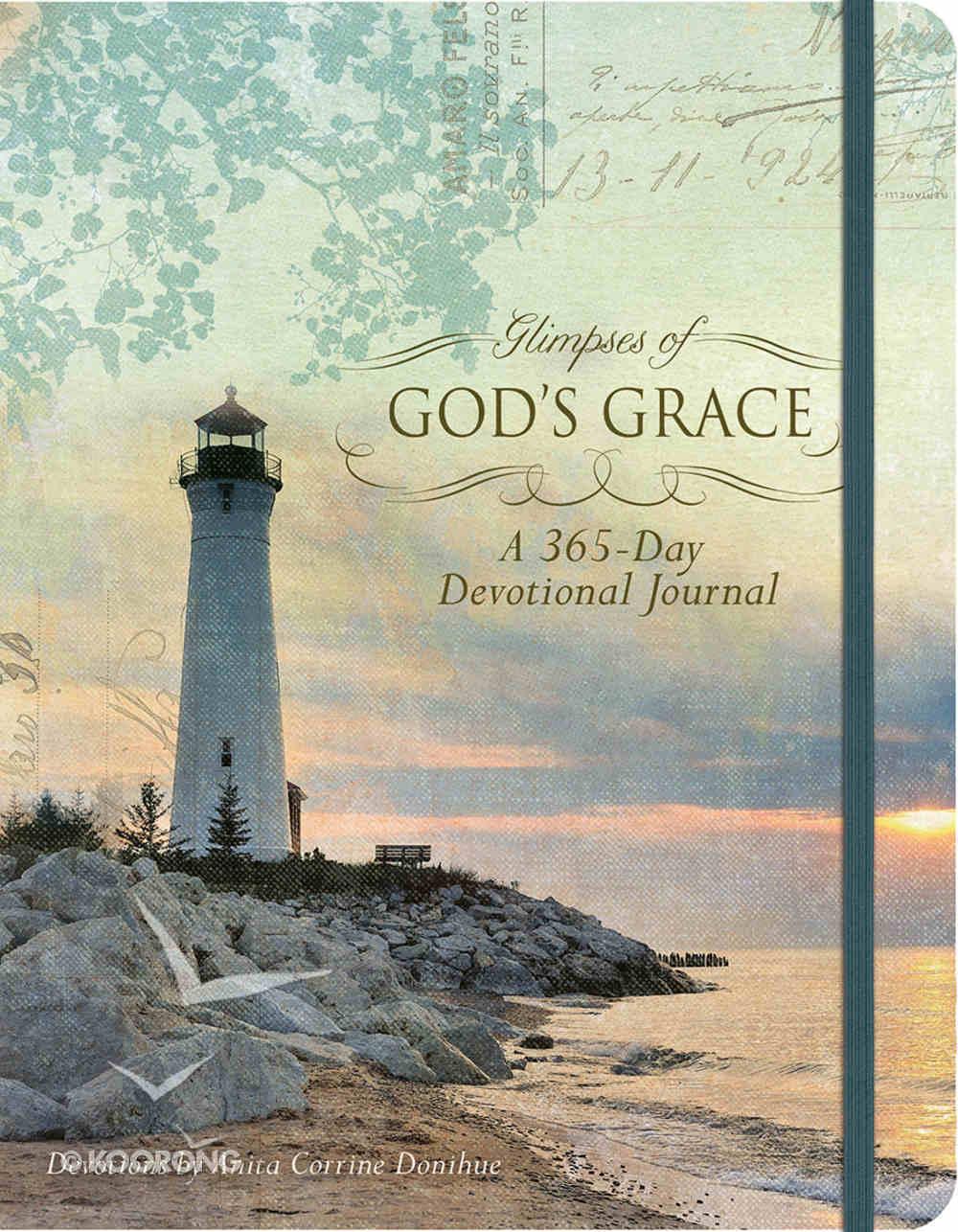 Devotional Journal: Glimpses of God's Grace Hardback