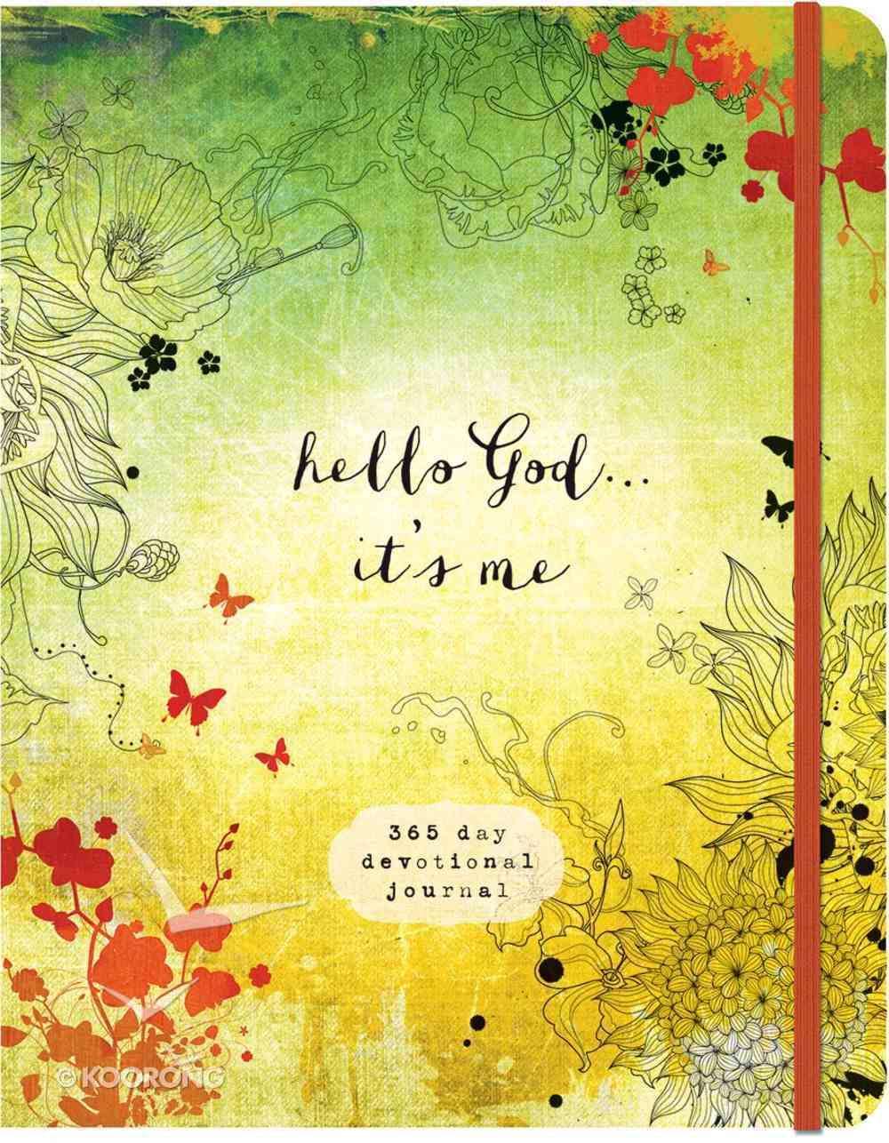 Hello God.. It's Me: A 365-Day Devotional Journal Paperback