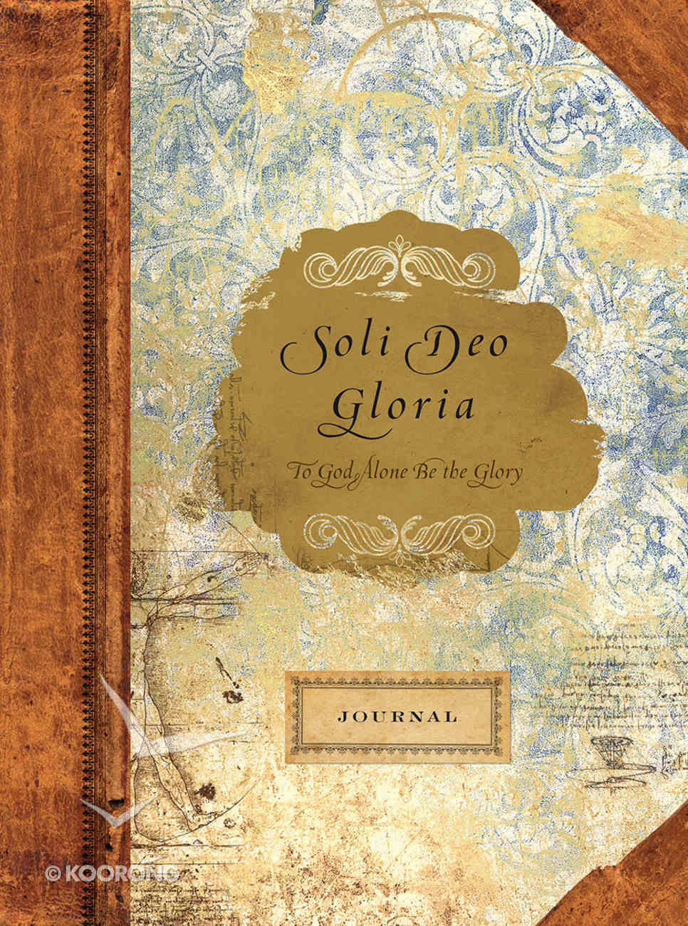 Journal: To God Alone Be the Glory Imitation Leather