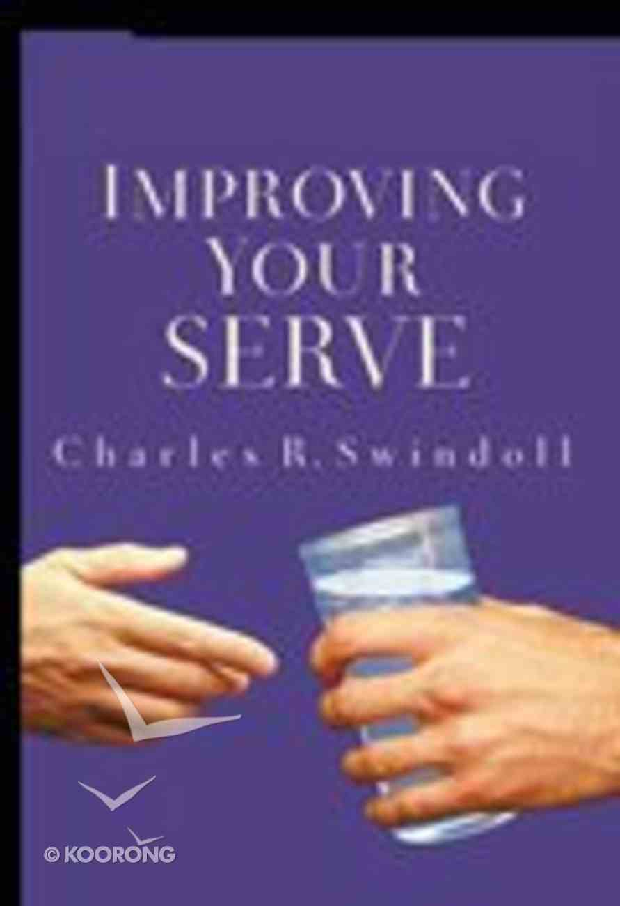 Improving Your Serve (Contemporary Classics Series) Paperback