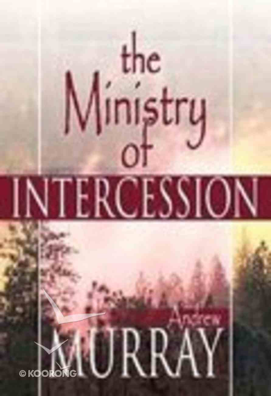 The Ministry of Intercession Paperback