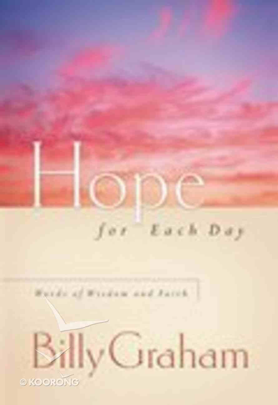 Hope For Each Day Paperback