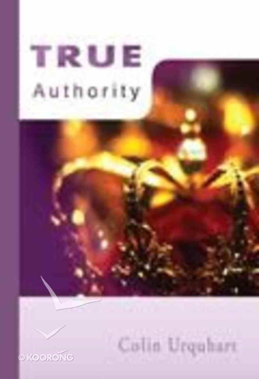 True Authority Paperback