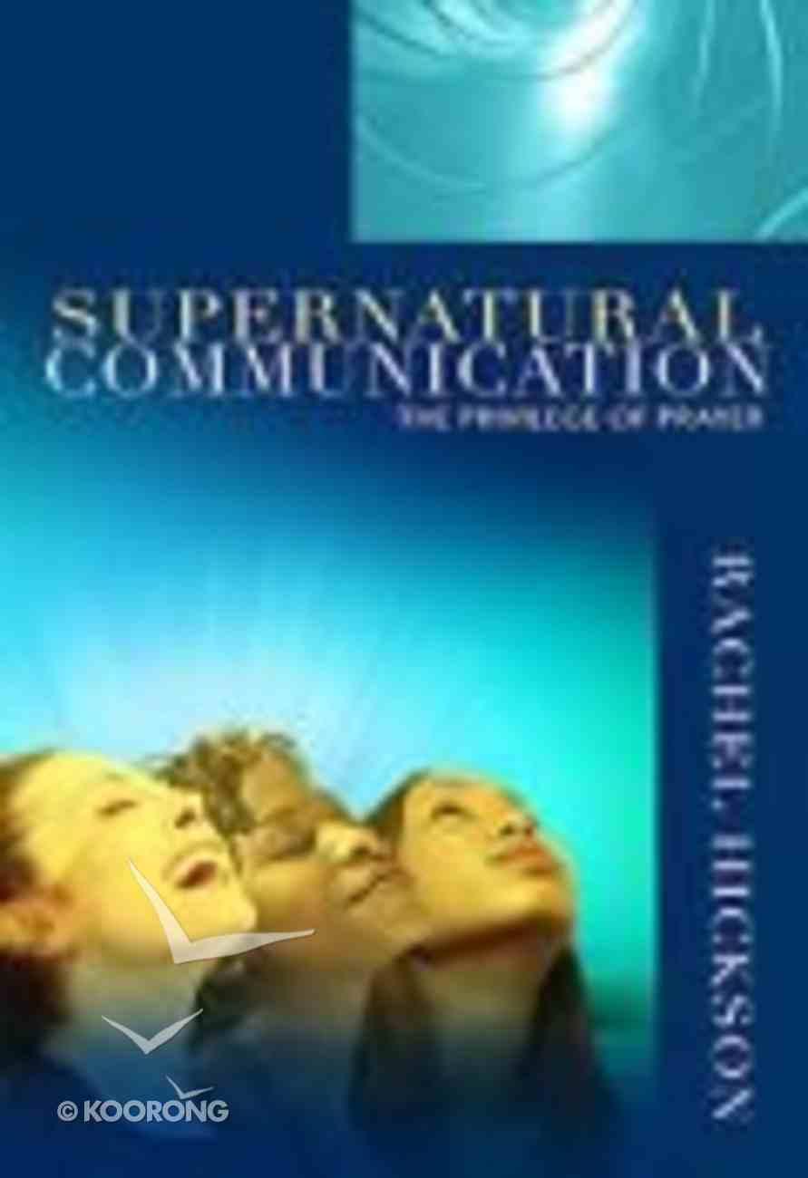 Supernatural Communication Paperback