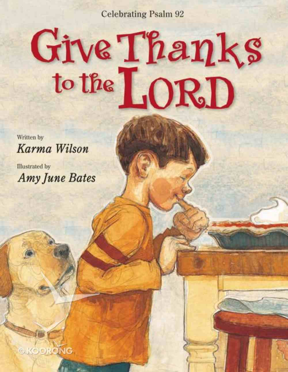 Give Thanks to the Lord Paperback