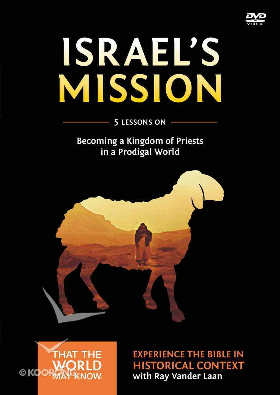 Israel's Mission (A DVD Study) (#13 in That The World May Know Series) DVD