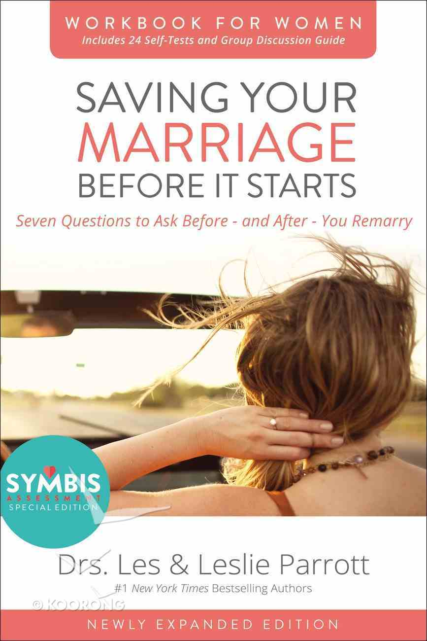 Saving Your Marriage Before It Starts (Workbook For Women -) Paperback