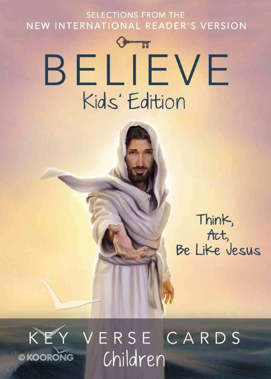 Believe Key Verse Cards: Children Cards