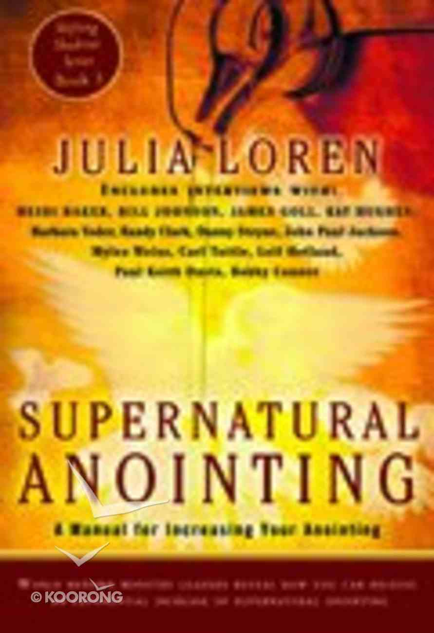 Supernatural Annointing Paperback