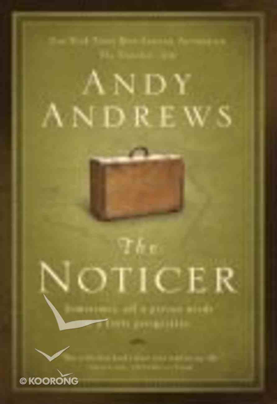 The Noticer (#01 in Noticer Trilogy Series) Paperback