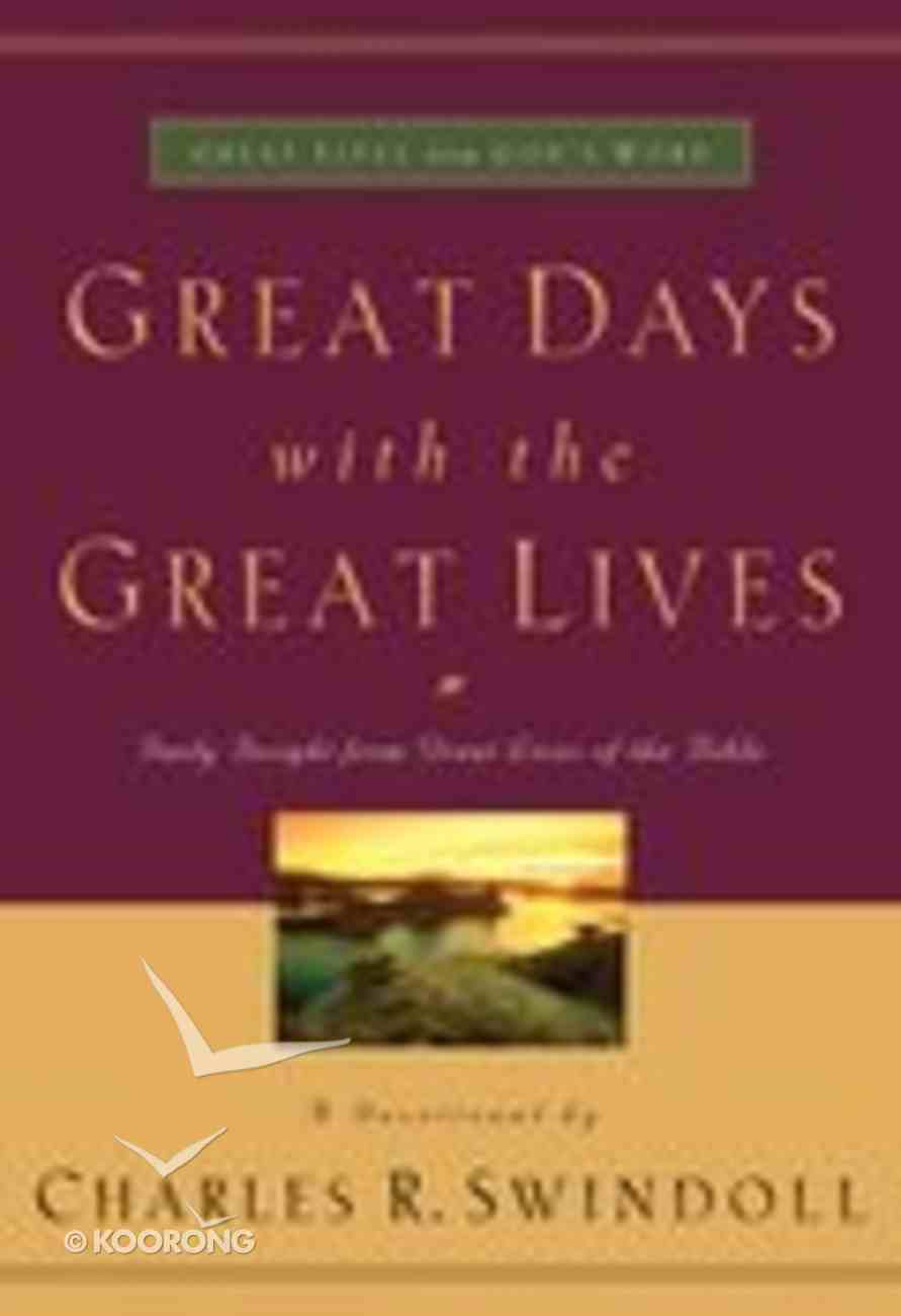 Great Days With the Great Lives Paperback
