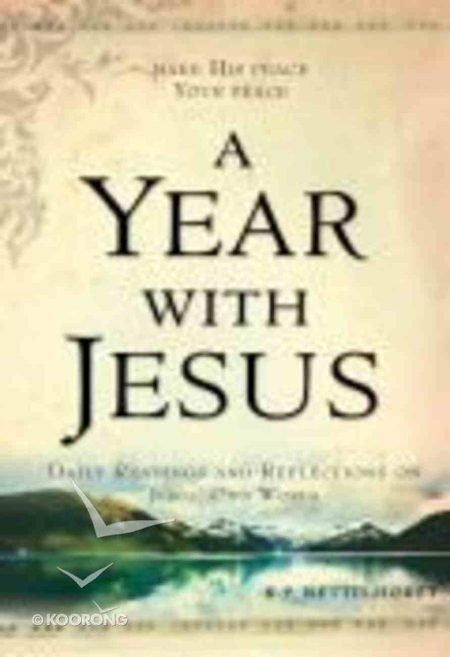 A Year With Jesus Paperback