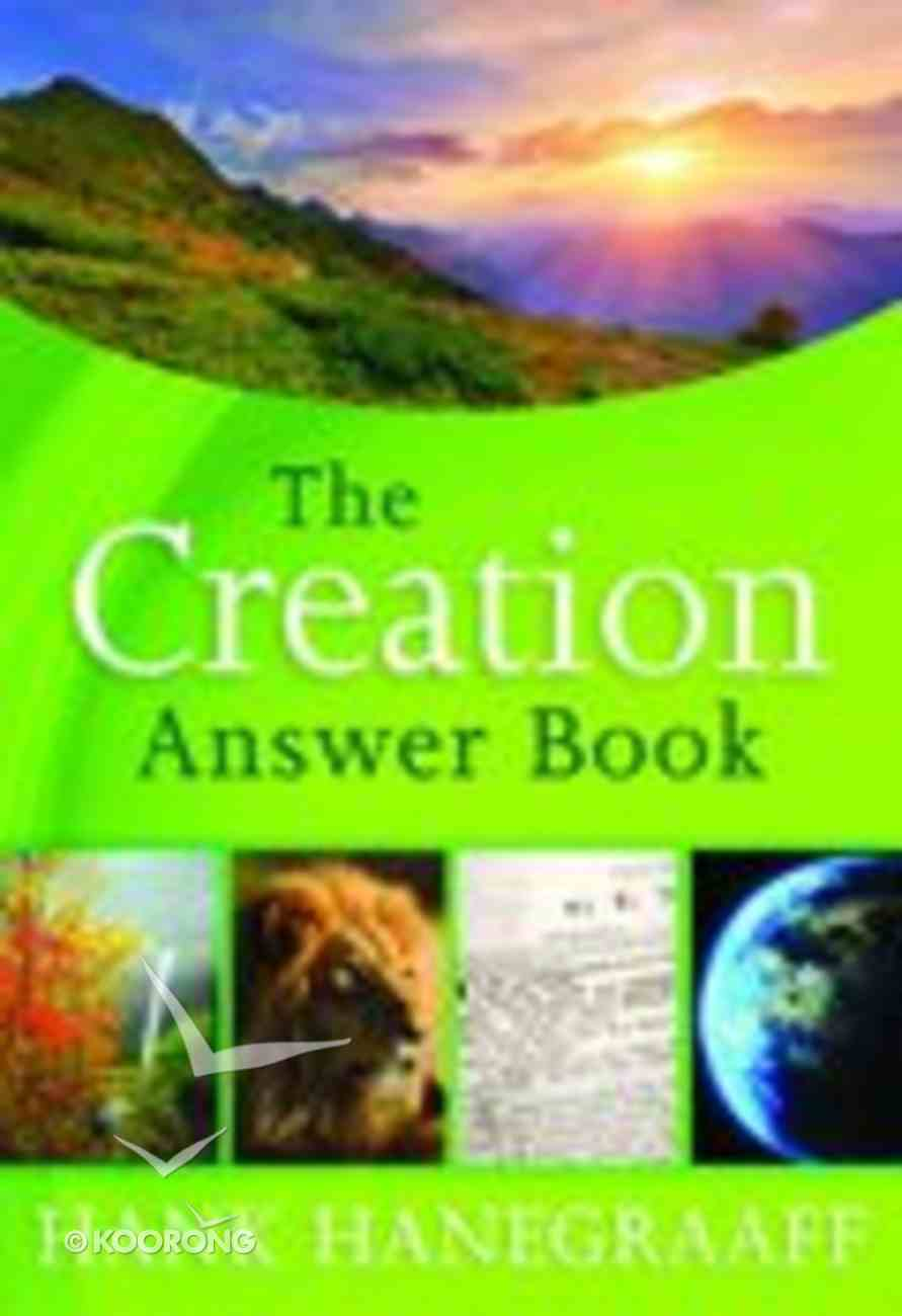 The Creation Answer Book Hardback