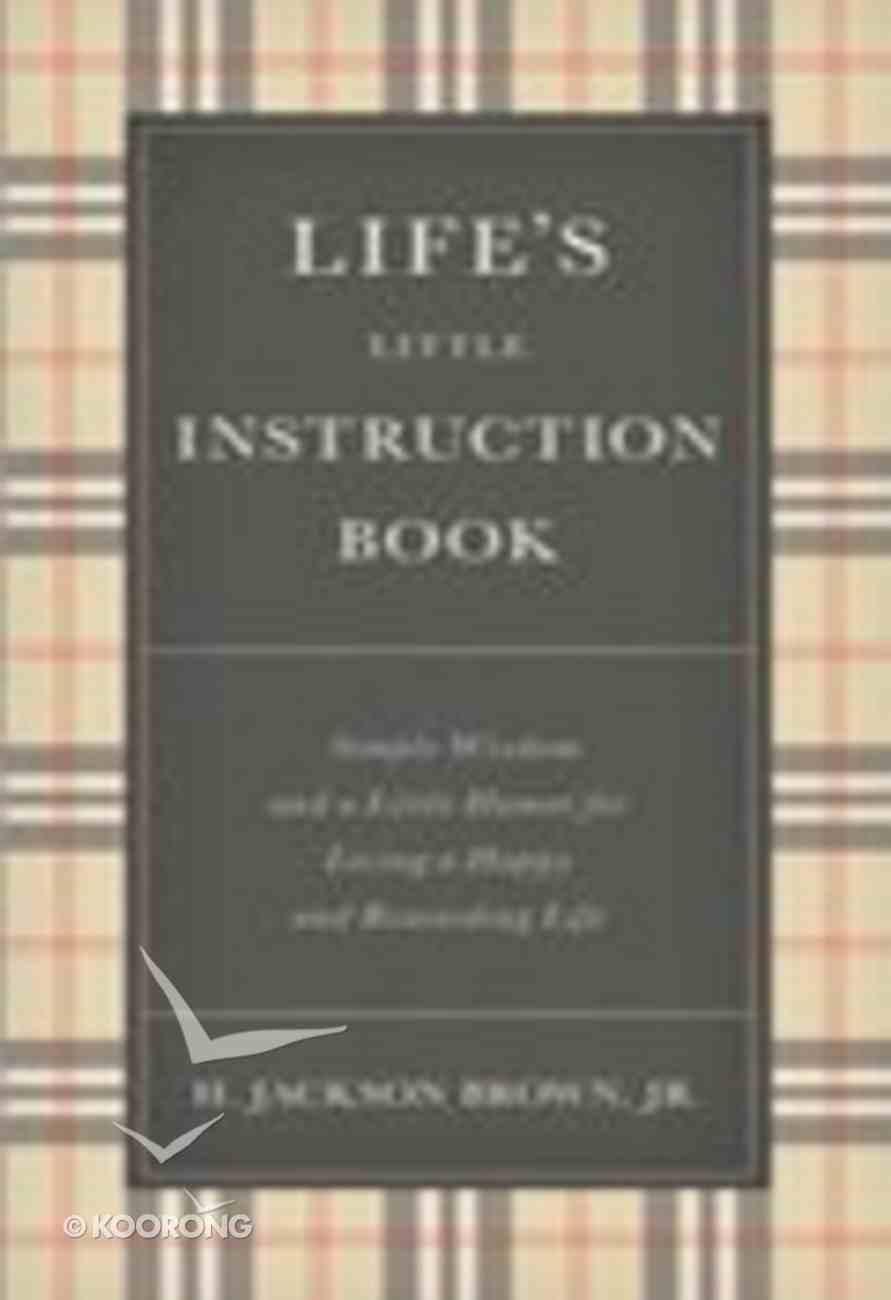 Life's Little Instruction Book Hardback